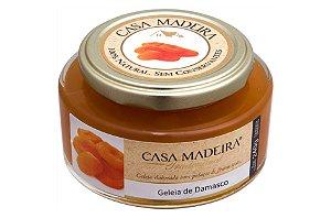 GELEIA DE DAMASCO 240 GRAMAS CASA MADEIRA