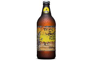 Cerveja Backer 3 Lobos American Pilsen 600 ml