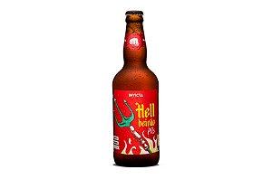 Cerveja Invicta Hellbeirão 500ml