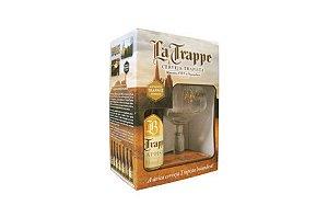 Kit Cerveja La Trappe Blond 750ml + Copo 250ml