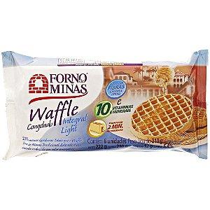 Waffle Integral Light Forno de Minas 210 gramas