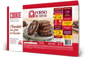 COOKIE CHOCOLATE 180 GRAMAS FORNO DE MINAS