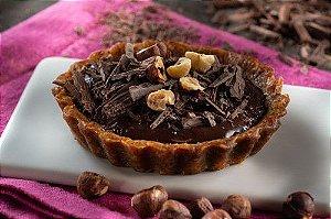TORTINHA DE FUDGE DE CHOCOLATE E AVELÃ 110 GRAMAS WE CHEF