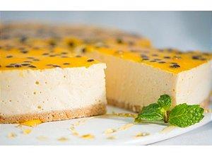 Torta de maracuja 100 gramas santa julia