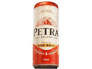 CERVEJA PURO MALTE LATA 350ML PETRA