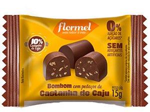 Flormel bombom castanha caju 15g