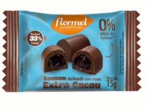 FLORMEL BOMBOM EXTRA CACAU 15G