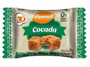 Flormel cocada zero 20 gramas
