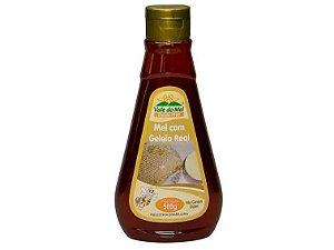 Mel com geleia real 500 gramas vale do mel