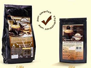 Cappuccino cremoso tradicional 1kg polvere d'oro