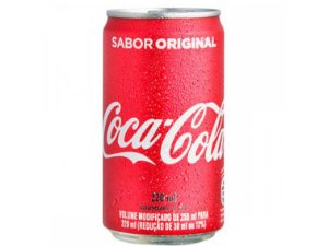 COCA COLA LATA 220ML