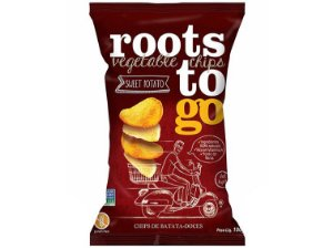 Chips batata doce 45g roots to go