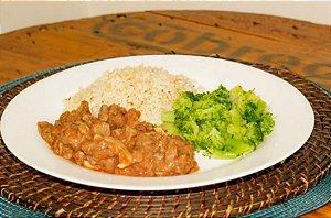 Strogonoff de Carne 250 gramas Natural Fast