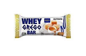 Barrinha Whey Grego Bar Doce de Leite 40 gramas Nutrata