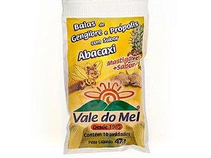 BALA ABACAXI 47 GRAMAS VALE DO MEL