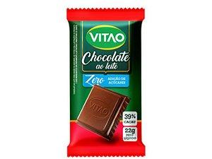 CHOCOLATE LEITE ZERO AÇÚCAR 22 GRAMAS VITAO