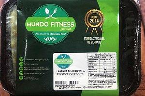 Lasanha de Abobrinha, Brócolis e Queijo 250 gramas Mundo Fitness