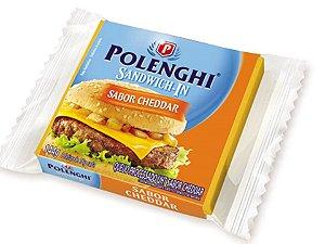 Queijo Cheddar Sandwich 144 gramas Polenghi