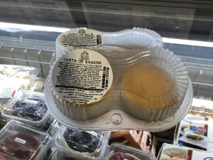 TORTA DE BANANA 100G (2 UNIDADES) SANTA JULIA