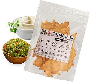 TOSTADILHA - Tortilha de mandioca sem glúten - 4 Pacotes 110g cada