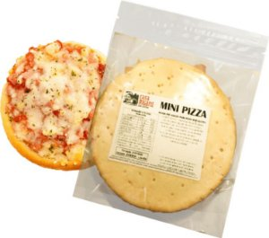 Mini Pizza - 5 unidades  - IDEAL PARA AIR FRYER