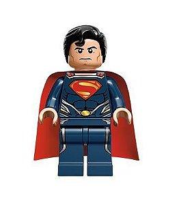 Boneco Superman Compatível Lego DC Comics