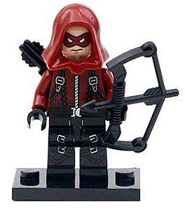 Boneco Arqueiro Vermelho Compatível Lego DC Comics