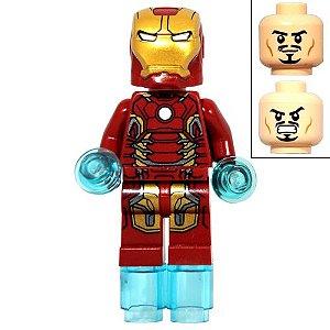 Boneco Homem de Ferro Compatível Lego Marvel