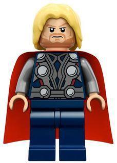Boneco Thor Compatível Lego Marvel