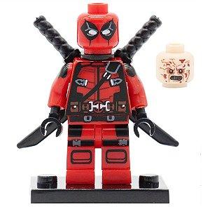 Boneco Deadpool Compatível Lego Marvel