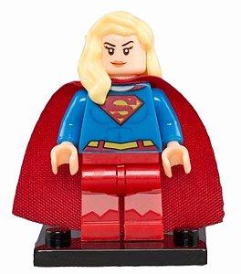 Boneco Supergirl Compatível Lego DC Comics