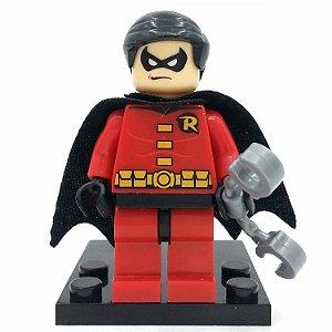 Boneco Robin Compatível Lego DC Comics