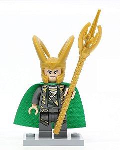 Boneco Loki Compatível Lego Marvel
