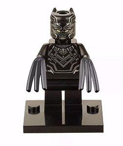 Boneco Pantera Negra Compatível Lego Marvel
