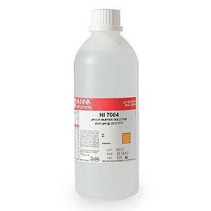 Solução de Calibração: pH 4.01 @ 25°C 500 ml - HI7004L/C