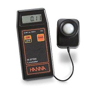 Medidor de Lux 0,001 a 1,999 Klux HI97500