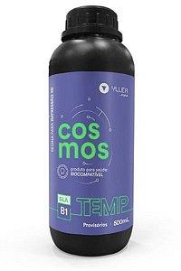 Cosmos DLP 405nm - TEMP B1 - 500ml | Resina Biocompatível para Provisórios