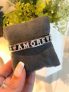 Bracelete Amore Prata 925