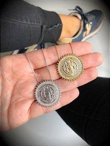New! Colar São Bento Silver