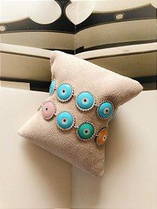 New!! Pulseira Olho Grego Azul Prata 925