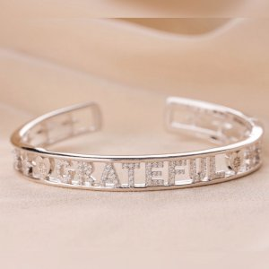 Bracelete Grateful Prata 925