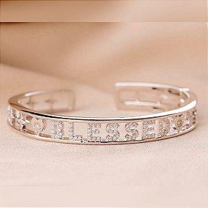 Bracelete Blessed Prata 925