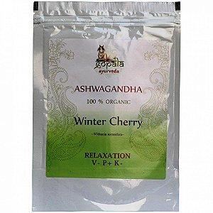 Ashwagandha 100% Organico Ayurveda 250 Gramas