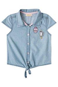 Camisa Jeans Le Petit Kukiê