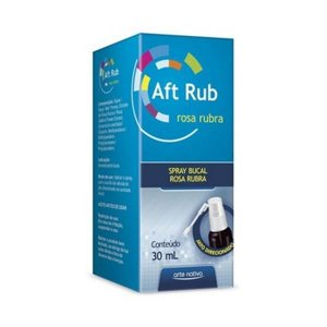 Aft Rub  Spray Bucal ARTE NATIVA 30ml