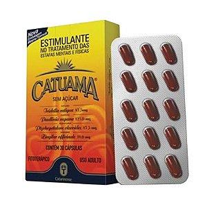 Catuama (Catuaba + Guaraná + Marapuama) CATARINENSE 30 Cápsulas
