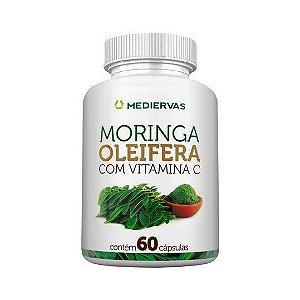 Moringa Oleifera com Vitamina C MEDIERVAS 60 Cápsulas