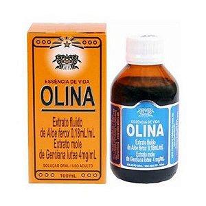 Olina 00 ml (Aloe ferox + Gentiana lutea + Associações) Solução Oral 100ml