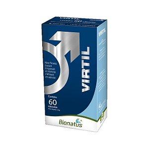 Virtil (Maca Peruana + Guaraná + Vitaminas e Minerais) BIONATUS 60 Cápsulas