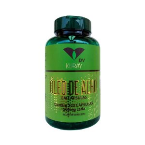 Óleo de Alho DV 500 mg 120 Cápsulas